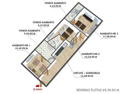 Viename patogiausių ir patraukliausių Vilniaus m. mikrorajonų, Šiaurės Miestelyje, J. Kubiliaus g., parduodamas išskirtinis 3 kambarių butas, puikiai tinkantis investicijai.