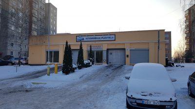 Parduodamas automobilių švaros centras (plovykla)