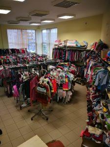 Skubiai parduodama vaikiškų prekių parduotuvė