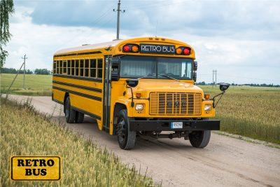 Parduodamas limo autobusas
