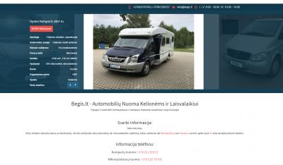 Parduodame 2 tinklapius automobilių nuomos tematika (puikūs rodikliai Google paieškoje)