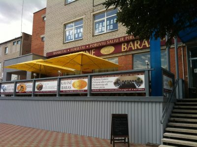 Parduodamas pelningai veikiantis  viešojo maitinimo verslas