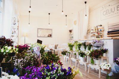 Parduodu floristikos studiją/gėlių saloną