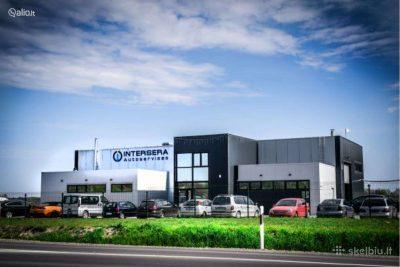 Parduodamas naujas pastatas, Autoservisas, 523 m2