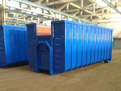 Parduodama konteinerių gamybos įmonė (be skolų)