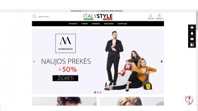 Parduodama internetinę parduotuvė Italystyle