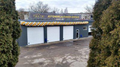 Parduodamas automobilių estetikos paslaugų verslas