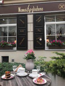 Parduodama irengta krautuvele-kavinuke Vilniuje pries Onos baznycia