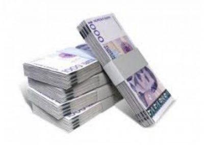 Pinigų pervežimas visame pasaulyje.