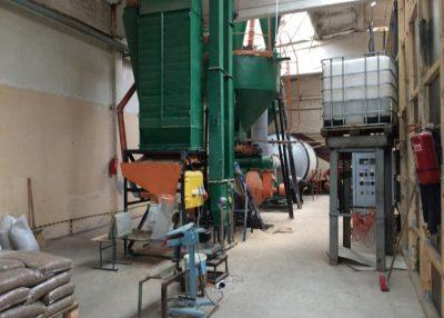Parduodama medžio pjuvenų granulių gamybos įranga